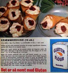 Som i min barndom hos farmor 😊 Danish Food, Danishes, Sweets Cake, Dinner Is Served, Vintage Recipes, Cake Cookies, No Bake Cake, Denmark, Cookie Recipes