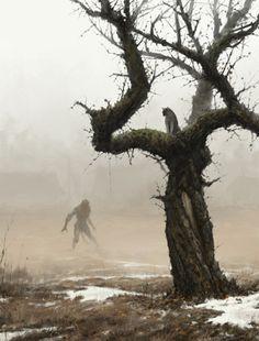 Art of Mr.Werewolf
