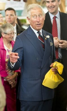 Prince Charles, Prince of Wales visits the Seaport Farmers Market on 19.05.2014 in Halifax, Canada.