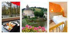 En Lozère, au coeur de la Vallée du Lot, découvrez Sainte-Eulalie-d'Olt ; un des plus beaux villages de France.  #Les2Rives #Plusbeauxvillagesdefrance #SteEulaliedOlt #Valleedulot