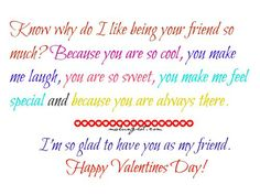 Valentines Day Quotes For Friends Valentines Day Quotes For College Friends  Valentines Day .