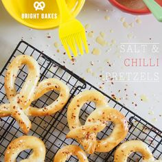 Bright.Bakes: Salt and Chili Pretzels