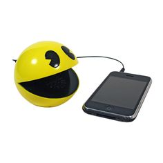 {Pac-Man Speaker} any iPhone/Smartphone would love this as its speaker buddy.
