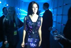 Twitter Dress by Cute Circuit - Wearable Technology