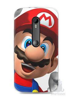 Capa Moto G3 Super Mario #1 - SmartCases - Acessórios para celulares e tablets :)