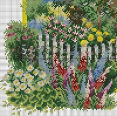 VK is the largest European social network with more than 100 million active users. Cross Stitch House, Cross Stitch Charts, No Name, Stitch Patterns, Photo Wall, Community, Country, Plants, Painting