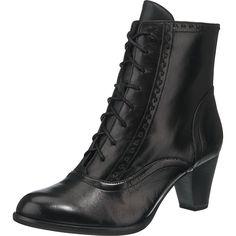 Die Tamaris Roraima Stiefeletten bieten Ihnen optimalen Komfort dank des weichen Fußbetts, das sich Ihrer Fußform anpasst. Auch der ANTIshokk-Stoßdämpfer im Absatz unterstützt ein angenehmes und schonendes Tragen.  - Verschluss: Reißverschluss - zusätzliche Schnürung - verstärkter Fersenbereich - Absatzart: Trichterabsatz  - Absatzhöhe: ca. 6,5 cm - Schafthöhe bei Gr. 37: ca. 13 cm - Schaftweit...