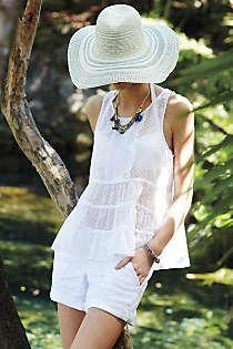 Anthropologie - Sea Breeze Sun Hat