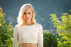 Laura Vandervoort attends the 41st Annual Saturn Awards cocktail party and reception at The Castaway on June 25, 2015 in Burbank, California.
