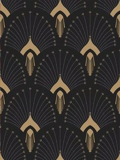New Art Deco Print Pattern Textile Design Ideas Arte Art Deco, Moda Art Deco, Estilo Art Deco, Art Deco Print, Art Prints, Wallpaper Art Deco, Trendy Wallpaper, Pattern Wallpaper, Graphic Wallpaper