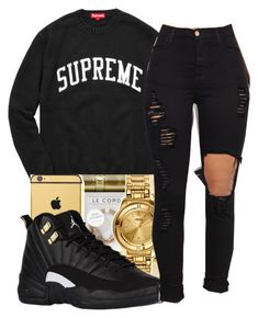 """Went to hell got hot didnt melt"" by maiyaxbabyyy ❤ liked on Polyvore"