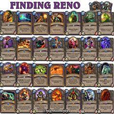 #hearthstone Finding Reno / Renolock