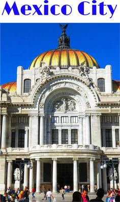 I highly recommend Museo de Bellas Artes to anyone visiting Mexico City. Even if you do not want to venture inside the art museum you should pay a visit to the building Palacio de Bellas Artes and the plaza in front of the building - SoloTripsAndTips.com