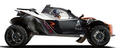 KTM X-Bow off road concept. Now this looks like fun