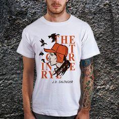 The Catcher In The Rye Men TShirt Cotton Men by CoffeenTeeShirt, $17.99