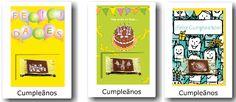 ¿Usted sabe que nuestras tarjetas con chocolate incrustado? Bonbon, Candy, Messages, Cards