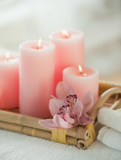 Candles are not allowed as they create a fire hazard in the living facilities.