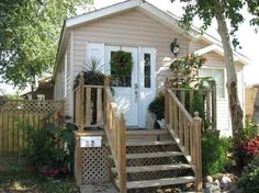 Mobile home repair help, remodel inspiration, and decorating ideas. Mobile Home Redo, Mobile Home Makeovers, Mobile Home Living, Home And Living, Mobile Home Renovations, Remodeling Mobile Homes, Home Improvement Projects, Home Projects, Single Wide Mobile Homes