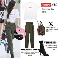 Current dancewear and an incredible leotards, jazz, valve and ballet footwear, hip-hop attire, lyricaldresses. Pink Outfits, Dance Outfits, Trendy Outfits, Cute Outfits, Dance Practice Outfits, Party Outfits, Kpop Fashion Outfits, Blackpink Fashion, Korean Fashion