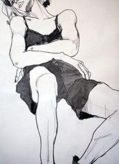 posture study . .
