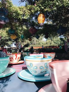 Disneyland Mad Tea Party