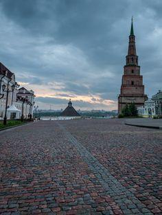 Söyembikä Tower of Kazan Kremlin, Kazan', Tatarstan Republic_ Russia
