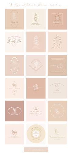 Gently Branding Kit by Natalya Krupnova on @creativemarket