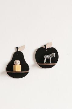 Little Apple and Pear Shelf