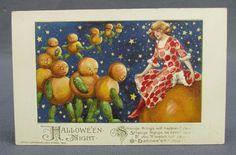 Antique Halloween Postcard Winsch