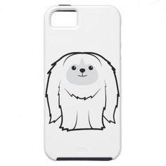 Pekingese Dog Cartoon iPhone 5 Cases