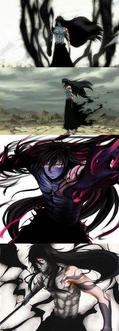Ichigo's final Getsuga Tenshō. Shinigami, Anime Guys, Manga Anime, Anime Art, Kawaii Chibi, Kawaii Anime, Naruto, Sasuke, Otaku