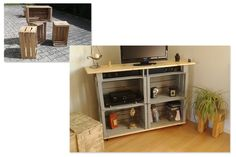 1000 ideas about meuble tv roulettes on pinterest table for Table tv a roulettes