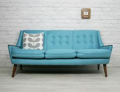 Vintage 1950s Sofa Fully Restored.  http://www.ebay.co.uk/itm/120899208271?ssPageName=STRK:MESELX:IT&_trksid=p3984.m1555.l2649