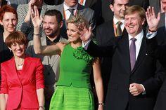 Queen Maxima Photos - King Willem-Alexander and Queen Maxima Visit Hesse - Zimbio