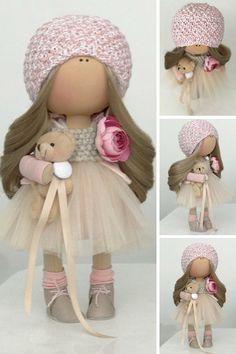 Tilda doll Handmade doll Fabric doll Textile doll Cloth doll Stoffpuppe Art doll Bambole Rag doll Puppen Muñecas Beige doll Bambino Yulia K __________________________________________________________________________________________ Hello, dear visitors! This is handmade textile