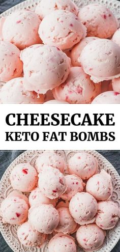 The best keto fat bombs! Tastes like strawberry cheesecake bites, and so simple and easy to make The best keto fat bombs! Tastes like strawberry cheesecake bites, and so simple and easy to make Keto Cheesecake, Strawberry Cheesecake Bites, Strawberry Blueberry, Blackberry, Cheesecake Cookies, Blueberry Cheesecake, Strawberry Desserts Healthy, Keto Fudge, Dessert Healthy