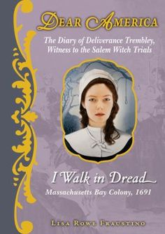 """""""Twelve-year-old Deliverance Trembley writes in her diary about the fears and doubts that arise during the 1692 witch hunt and trials in Salem Village, Massachusetts, especially when her pious friend, Goody Corey, is condemned as a witch."""""""