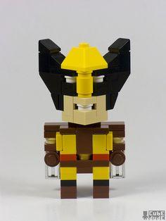 CubeDude Wolverine by Angus MacLane