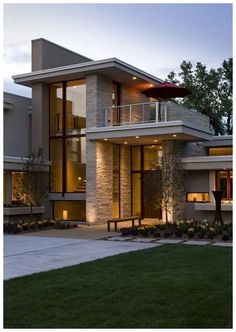 New House Modern Exterior Architecture Outdoor Living Ideas Dream House Exterior, Wall Exterior, Modern Exterior House Designs, Facade House, House Goals, Modern House Design, Modern Wood House, Modern Houses, Luxury Modern House