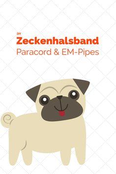 Macht ein Zeckenhalsband mit Paracord und EM-Pipes einfach selber!