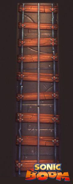 Sonic Boom - Speedtrack Railroad Surface, Martin Ocejo on ArtStation at https://www.artstation.com/artwork/sonic-boom-speedtrack-railroad-surface