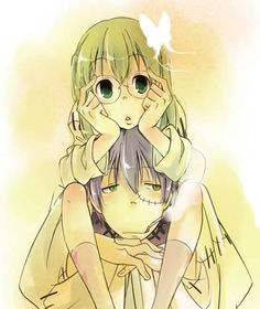 Maka and Stein, he really is more of a father to her than Spirit