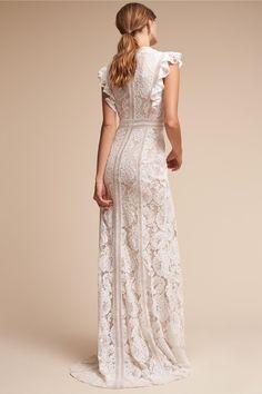 BHLDN Ivory Natural Placid Gown in Bride  cac9af42fb45