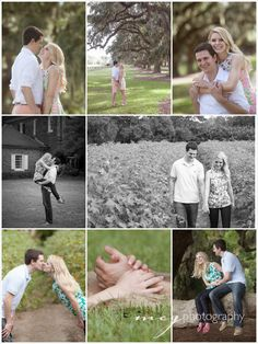 © MCG Photography. Engagement session at Boone Hall outside of Charleston SC