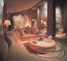 "palmandlaser: "" From Showcase of Interior Design: Pacific Edition "" 80s Interior Design, 1980s Interior, Mid-century Interior, Interior Architecture, Interior Decorating, 90s Design, Futuristic Interior, Design Interiors, Decorating Ideas"