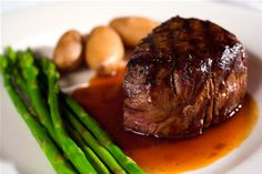 The perfect romantic meal is the Filet Mignon. Tender, and perfect for two, this is a great steak, and these recipes make it even better. A1 Steak Sauce, Steak Sauce Recipes, Beef Recipes, Cooking Recipes, Cooking Fish, Filet Mignon Sauce, Ruth Chris Steak, Cooking Venison Steaks, Steak Meals