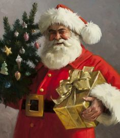 Tom Browning Santa Claus portfolio ^_^ Click on 'Art', Santa pics are the 5th folder over