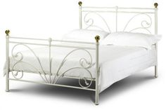 Metal Scrollwork Bed Frame Bedroom Furniture Ivory Gold Slat Spare Room Romantic  http://www.ebay.co.uk/itm/Metal-Scrollwork-Bed-Frame-Bedroom-Furniture-Ivory-Gold-Slat-Spare-Room-Romantic-/131876841336?hash=item1eb478e778:g:CHQAAOSwzLlXhrDf  Grab this Fantastic Item. Visit Luxury Home Gardens and Grab this offer Now!