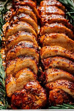 Best Pork Tenderloin Recipe, Pork Tenderloin Roast Recipes, Roasted Pork Loin Recipes, Grilled Pork Tenderloin Marinade, Best Roast Recipe, Bbq Pork Roast, Rosemary Pork Tenderloin, Easy Pork Tenderloin Recipes, Thin Pork Chops