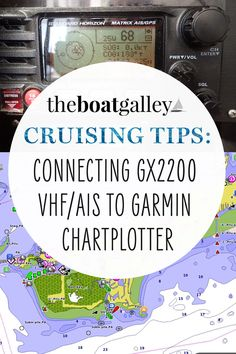How to connect a Standard Horizon GX2200 VHF with GPS and AIS receiver to a Garmin chartplotter. Wiring and device settings. Boat Projects, Boats, Sailing, Connection, Tips, Candle, Advice, Ships, Boat